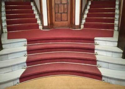 Instalación Moqueta Escaleras
