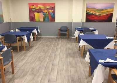 Pavimento Vinilico Restaurantes