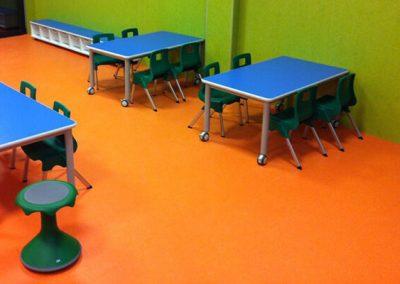 Instalación Pavimentos Colegios