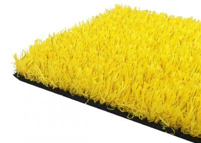 césped artificial colores - amarillo