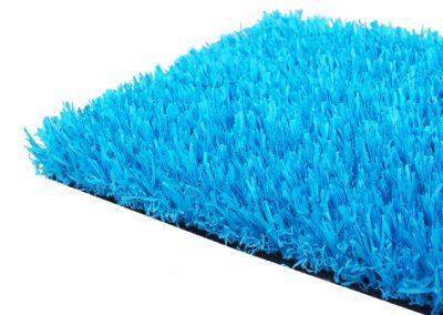 césped artificial colores - azul