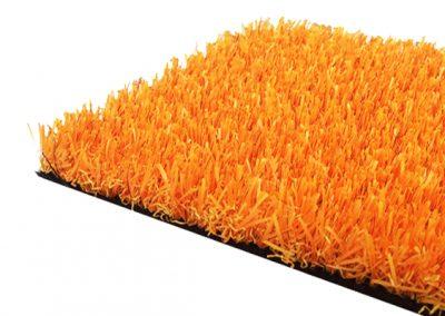 césped artificial colores - naranja