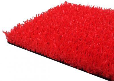 césped artificial colores - rojo
